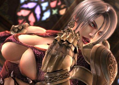 Soul calibur video game boobs can speak